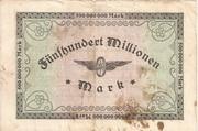 500,000,000 Mark (Reichsbahndirektion) -  reverse