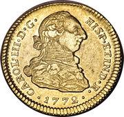 2 Escudos - Carlos III -  obverse