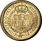 2 Escudos - Carlos III -  reverse