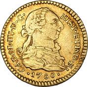 1 Escudo - Carlos III – obverse