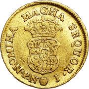 1 Escudo - Carlos III (portrait of Fernando VI) – reverse