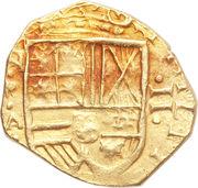 2 Escudos - Felipe IV – obverse