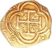 2 Escudos - Felipe IV – reverse
