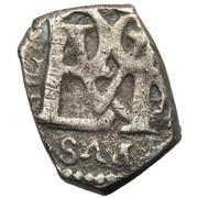 ½ Real - Felipe III, Felipe IV, Carlos II, Felipe V, Luis I or Fernando VI – obverse