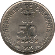 50 Pesos (National Constitution) -  obverse