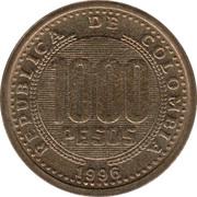 1000 Pesos – obverse