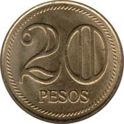 20 Pesos -  reverse