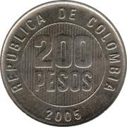 200 Pesos -  reverse