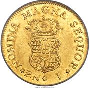 1 Escudo - Fernando VI – reverse