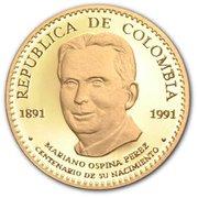 100 000 Pesos (Mariano Ospina Perez) – obverse