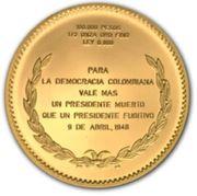 100 000 Pesos (Mariano Ospina Perez) – reverse