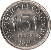 5 Pesos (Pan-American Games) -  reverse