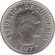 10 Centavos (continuous legend; small letters) -  obverse