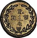 "¼ Real (""Cuartillo"", Republic of Colombia) – reverse"