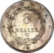 """8 Reales """"Granadino"""" – reverse"""