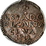 ½ Real (Cartagena) – reverse