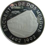 10 000 Pesos (Ibero-American Series - Bogotá Mint) – reverse