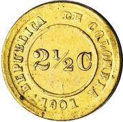2½ Centavos (Leprosarium Coinage) – obverse