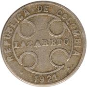 1 Centavo (Leprosarium Coinage) – obverse