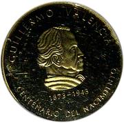 1000 Pesos (Guillermo Valencia) – reverse