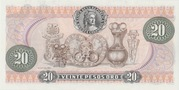 20 Pesos(Francisco Jose de Caldas) – reverse