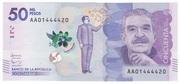 50000 Pesos – obverse
