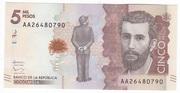 5000 Pesos – obverse