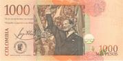 1 000 Pesos – reverse