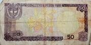 50 Pesos de oro – reverse