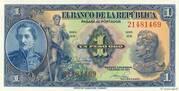 1 Peso Oro – obverse
