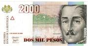 2000 Pesos – obverse