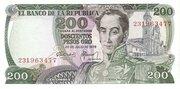 200 Pesos Oro – obverse