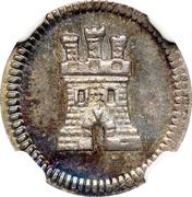 """¼ Real """"Cuartillo"""" - Fernando VI, Carlos III or Carlos IV – reverse"""