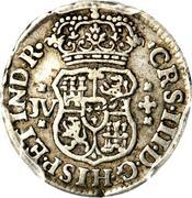 ½ Real - Carlos III – obverse