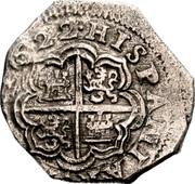 2 Reales - Felipe IV – reverse