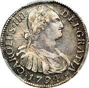 2 Reales - Carlos IV – obverse