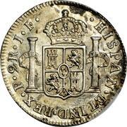 2 Reales - Fernando VII (Portrait of Carlos IV) – reverse