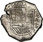 8 Reales - Felipe IV – obverse