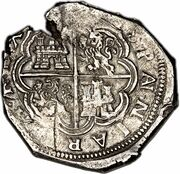 8 Reales - Felipe IV – reverse