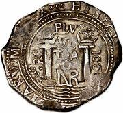 8 Reales - Carlos II – reverse
