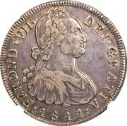 8 Reales (Portrait of Carlos IV) – obverse