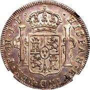 8 Reales (Portrait of Carlos IV) – reverse