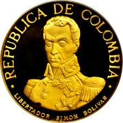 1500 Pesos (Battle of Boyaca) – obverse