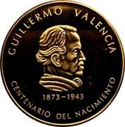 1500 Pesos (Guillermo Valencia) – reverse