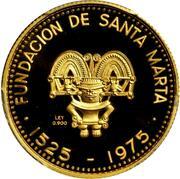 2000 Pesos (City of Santa Marta) – reverse