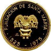 1000 Pesos (City of Santa Marta) – reverse