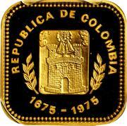2000 Pesos (300th Anniversary of Medellin) – obverse