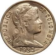 5 Centavos (Liberty) -  obverse