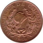1 Centavo (Phrygian Cap) – obverse