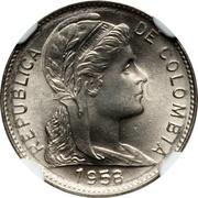 1 Centavo (Liberty) – obverse